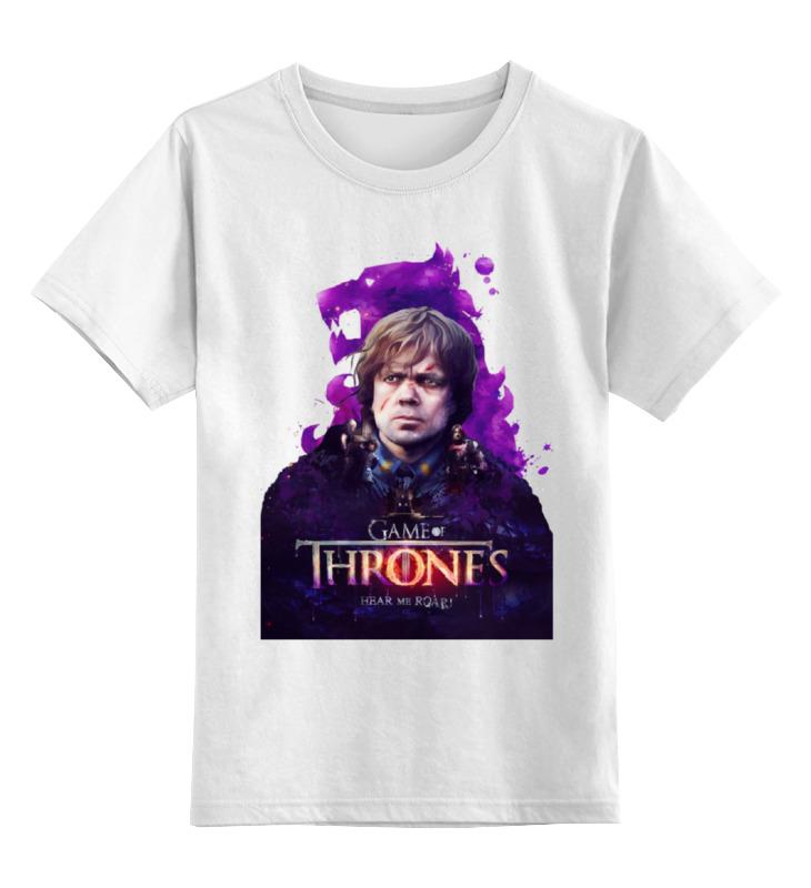 Детская футболка классическая унисекс Printio Игра престолов цена и фото