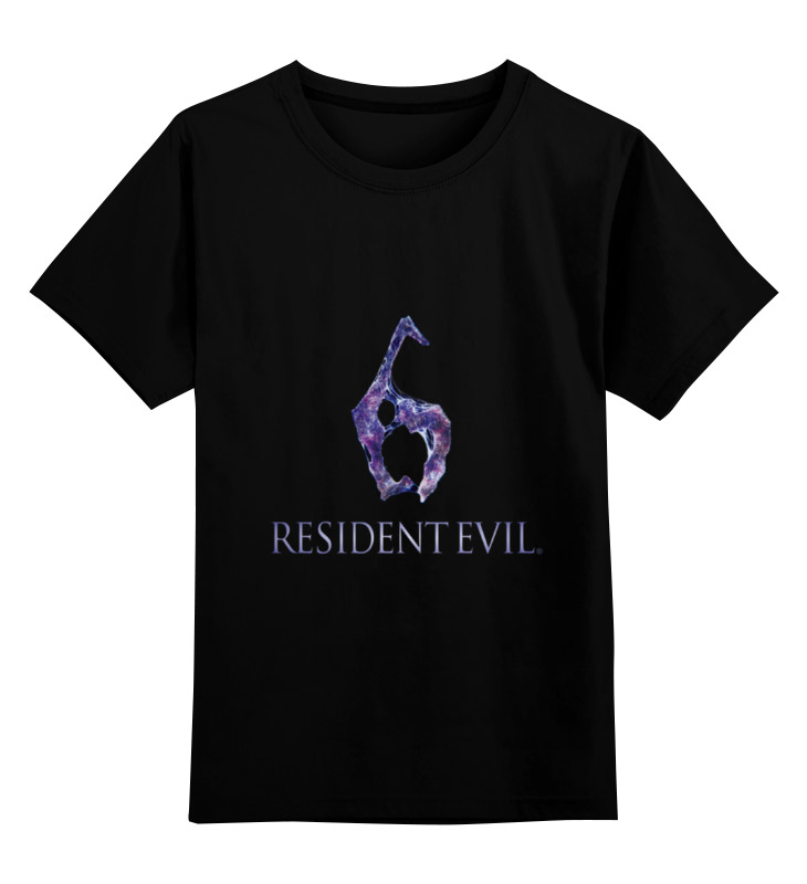 Детская футболка классическая унисекс Printio Resident evil 6 футболка классическая printio игровая приставка денди