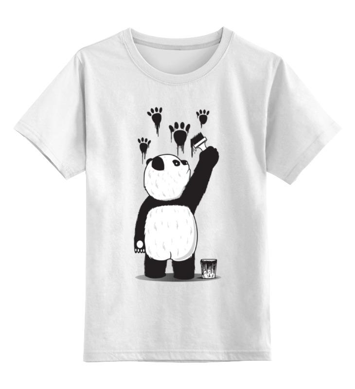 Printio Панда вандал детская футболка классическая унисекс printio панда