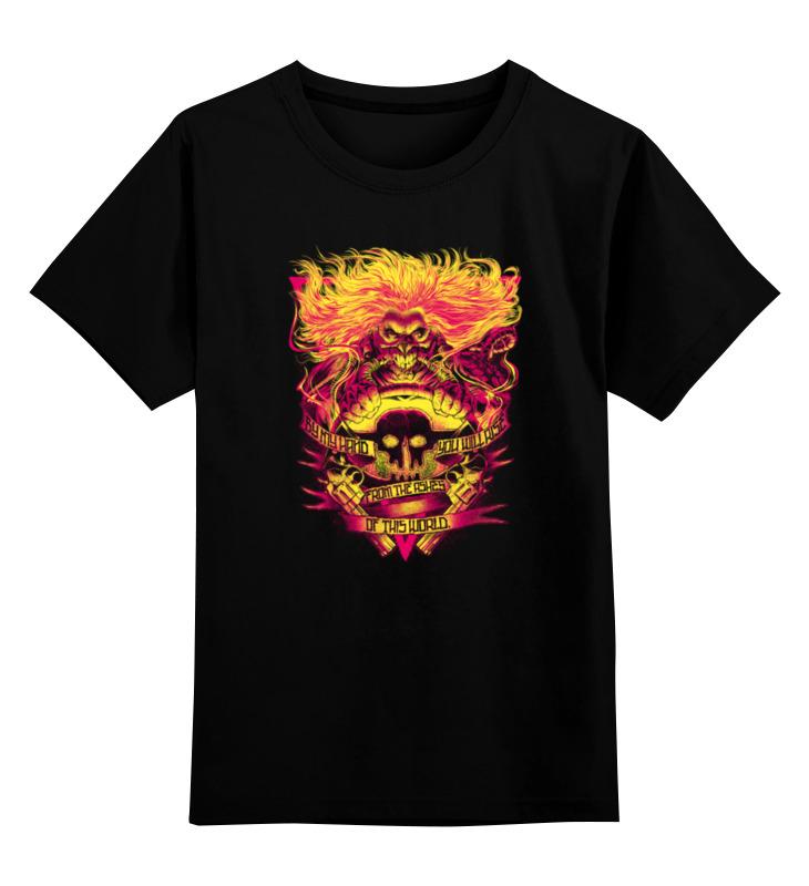 Детская футболка классическая унисекс Printio Безумный макс: дорога ярости детская футболка классическая унисекс printio безумный макс mack