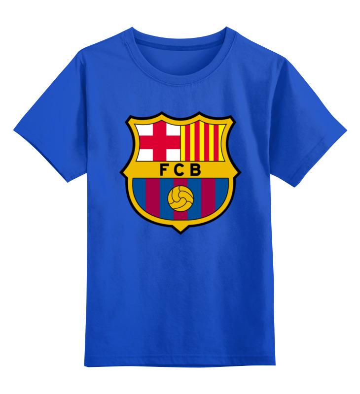 Детская футболка классическая унисекс Printio Фк барселона футболка классическая printio фк ростов