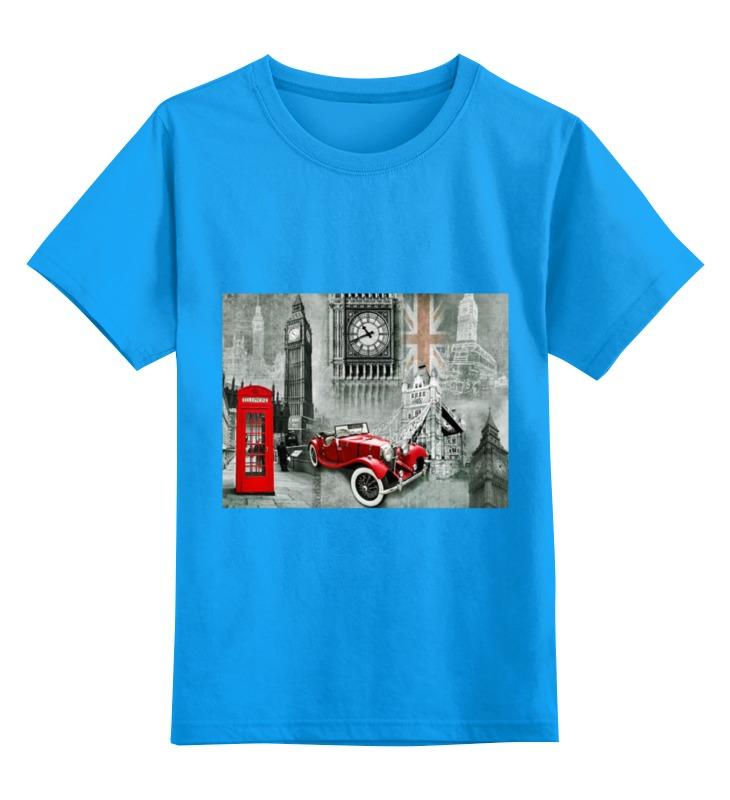 Детская футболка классическая унисекс Printio Лондон