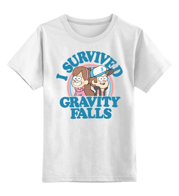 Детская футболка классическая унисекс Printio Gravity falls