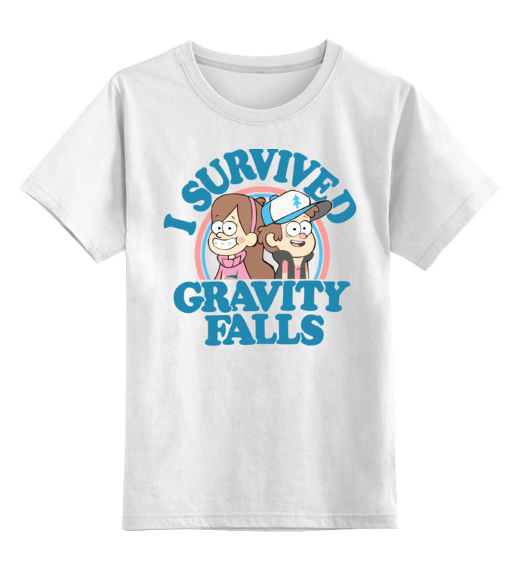Детская футболка классическая унисекс Printio Gravity falls produino digital 3 axis acceleration of gravity tilt module iic spi transmission for arduino