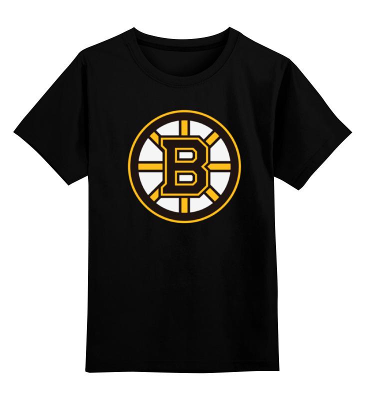 Детская футболка классическая унисекс Printio Boston bruins