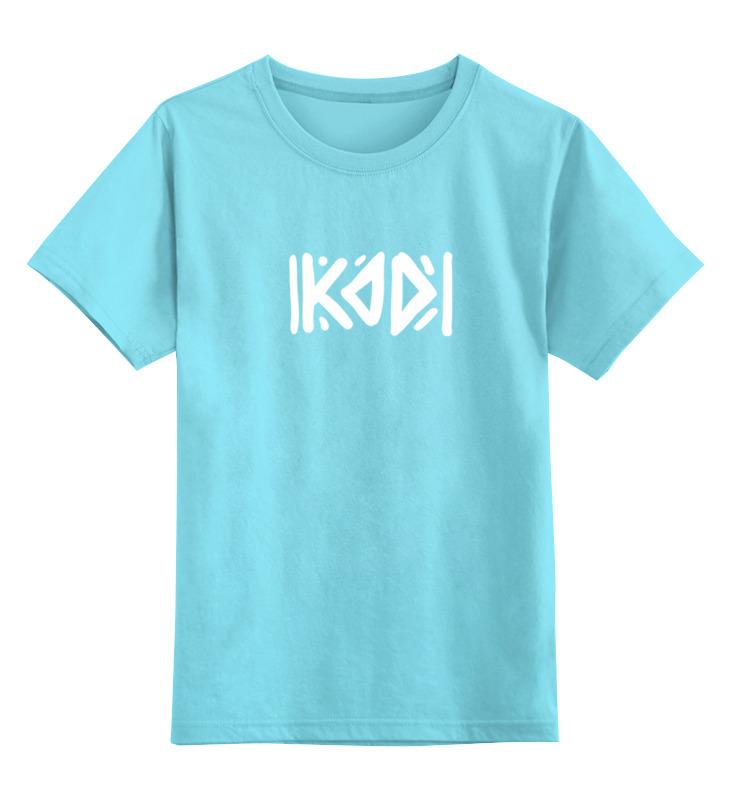 Детская футболка классическая унисекс Printio С логотипом kod футболка print bar футболка с логотипом карателя