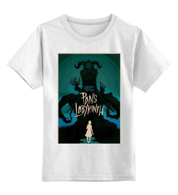 Детская футболка классическая унисекс Printio Лабиринт фавна / pan's labyrinth детская футболка классическая унисекс printio лабиринт qhd