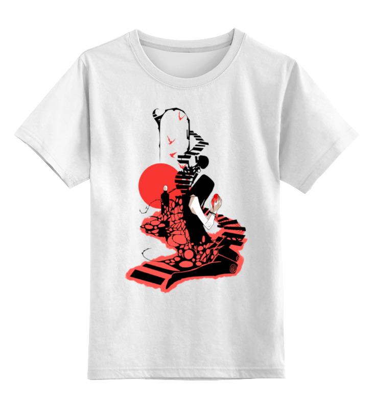 Детская футболка классическая унисекс Printio Сердце наружу...