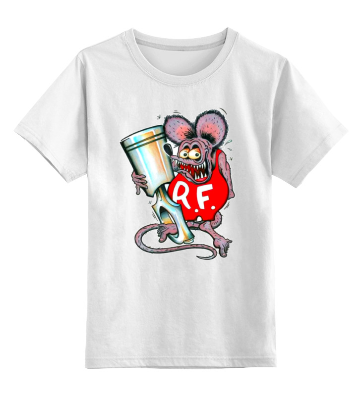 Детская футболка классическая унисекс Printio Evil mouse майка классическая printio evil mouse