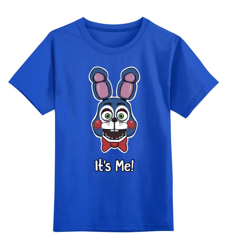 Детская футболка классическая унисекс Printio Бонни ( bonnie the bunny) детская футболка классическая унисекс printio bugs bunny man