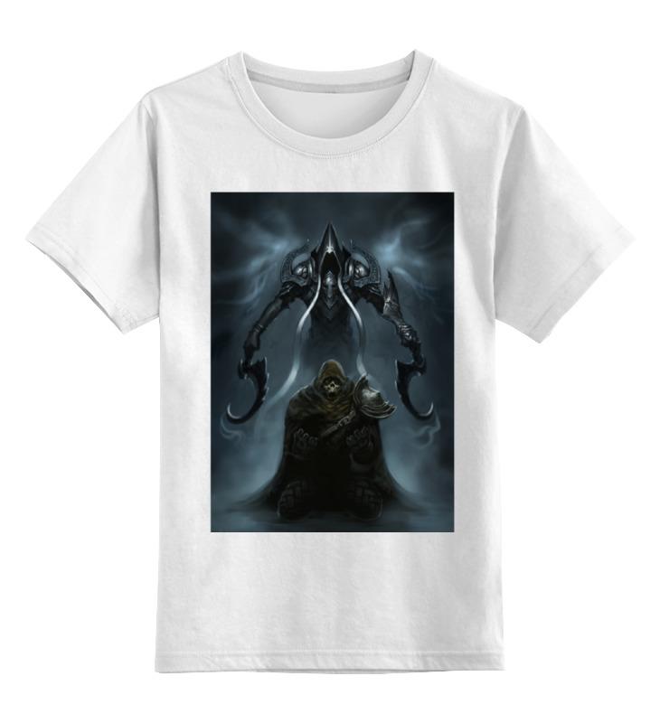 Детская футболка классическая унисекс Printio Diablo iii diablo 3 ключ 900