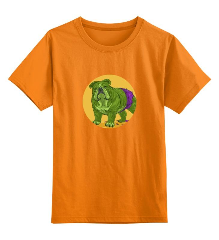 Детская футболка классическая унисекс Printio Супергерои: халк