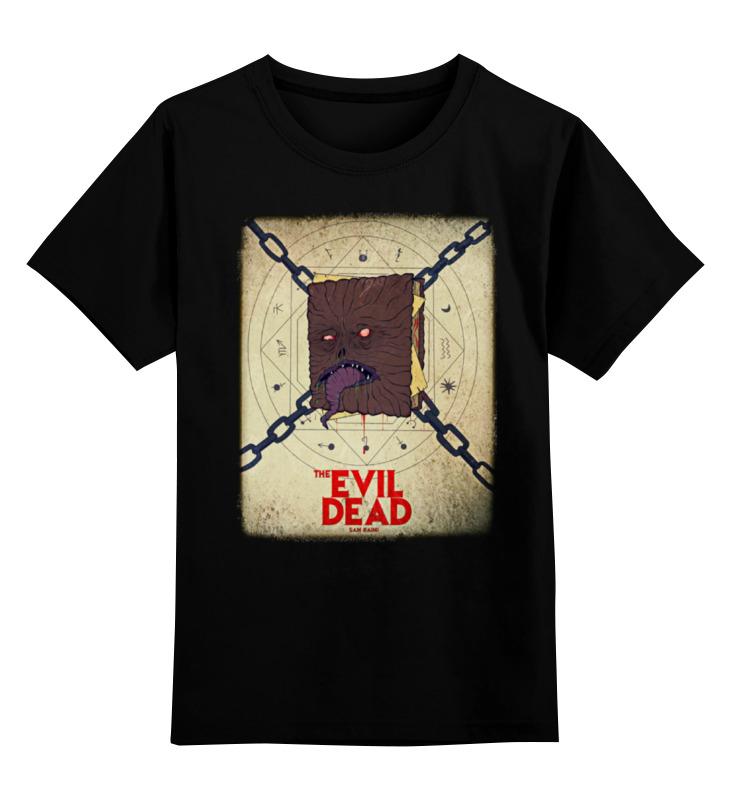 Детская футболка классическая унисекс Printio Evil dead