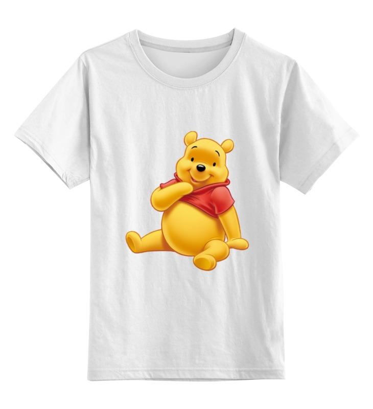 Детская футболка классическая унисекс Printio Медвежонок винни