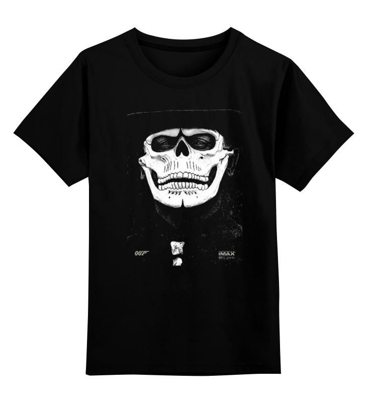 Детская футболка классическая унисекс Printio Bond 007 / spectre майка классическая printio bond 007 spectre