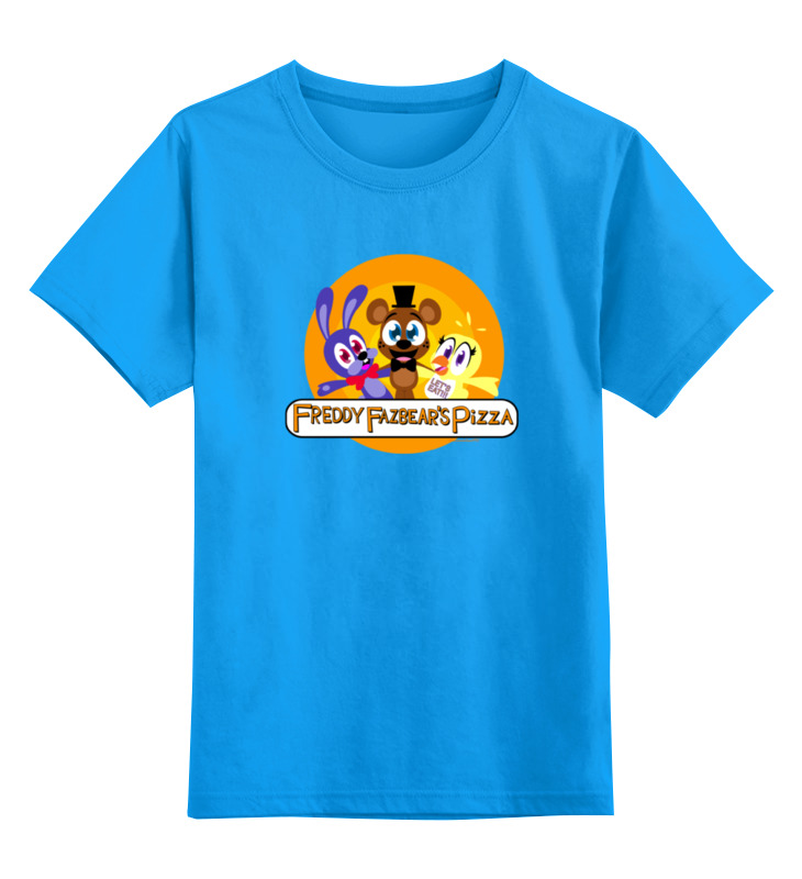 Детская футболка классическая унисекс Printio Five nights at freddy детская футболка классическая унисекс printio golden freddy