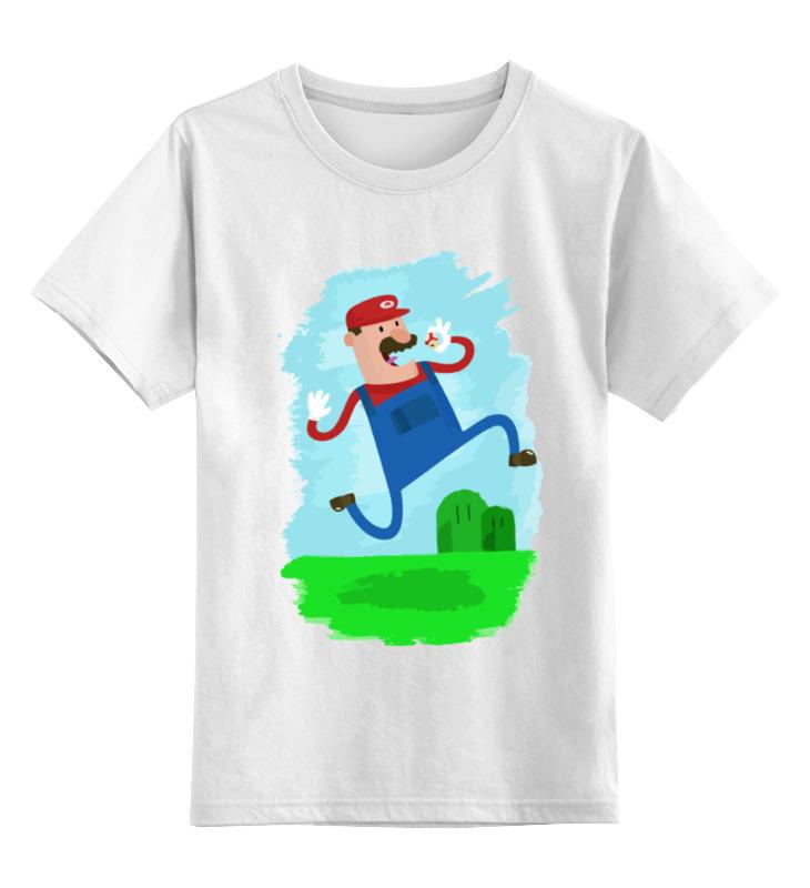 Printio Марио (mario) детская футболка классическая унисекс printio череп марио