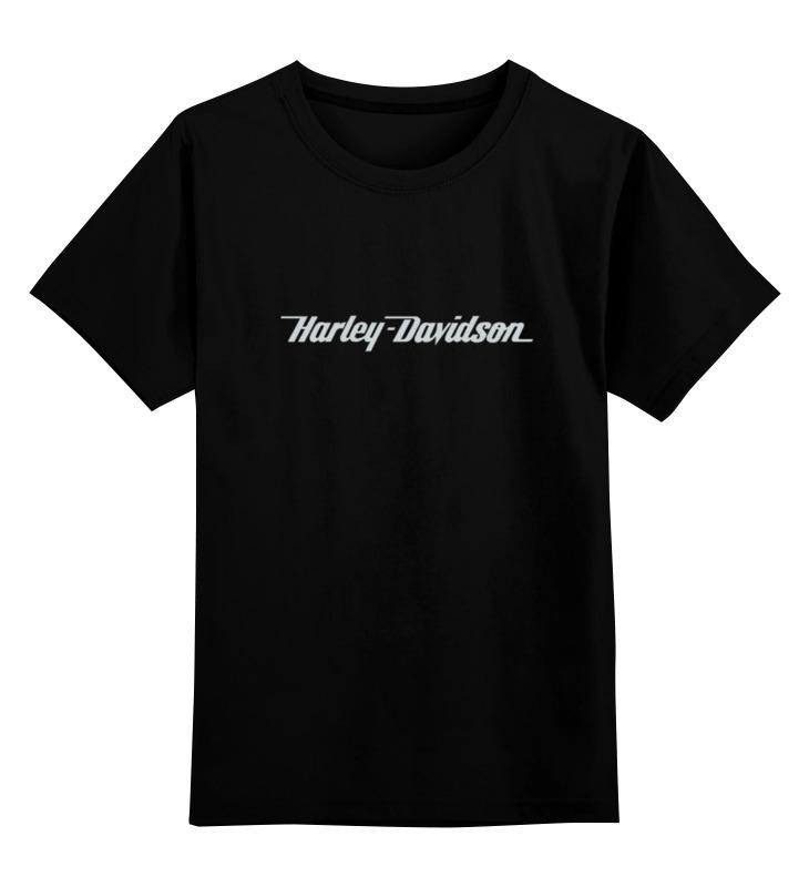 Детская футболка классическая унисекс Printio Harley-davidson / харлей ручка газа для мотоциклов 5 25 harley softail dyna sportster honda vtx suzuki kawasaki yamaha