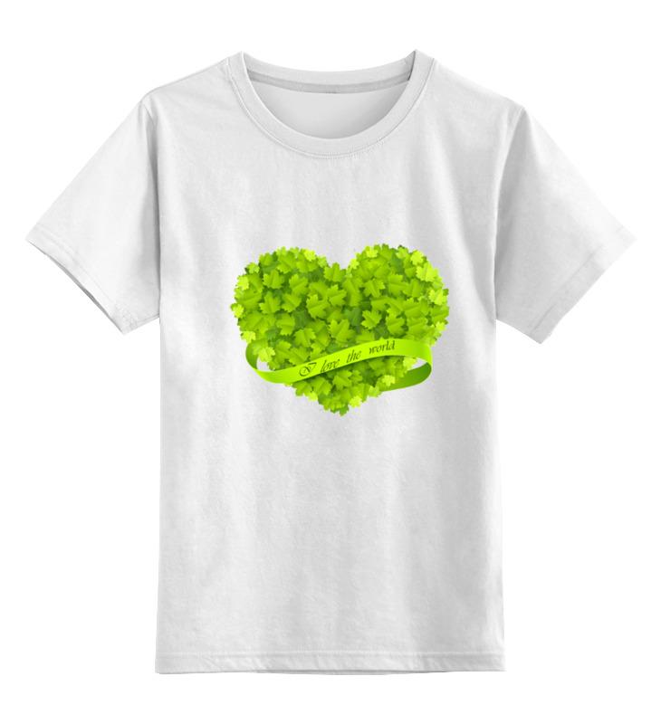 Детская футболка классическая унисекс Printio Сердце детская футболка классическая унисекс printio механическое сердце