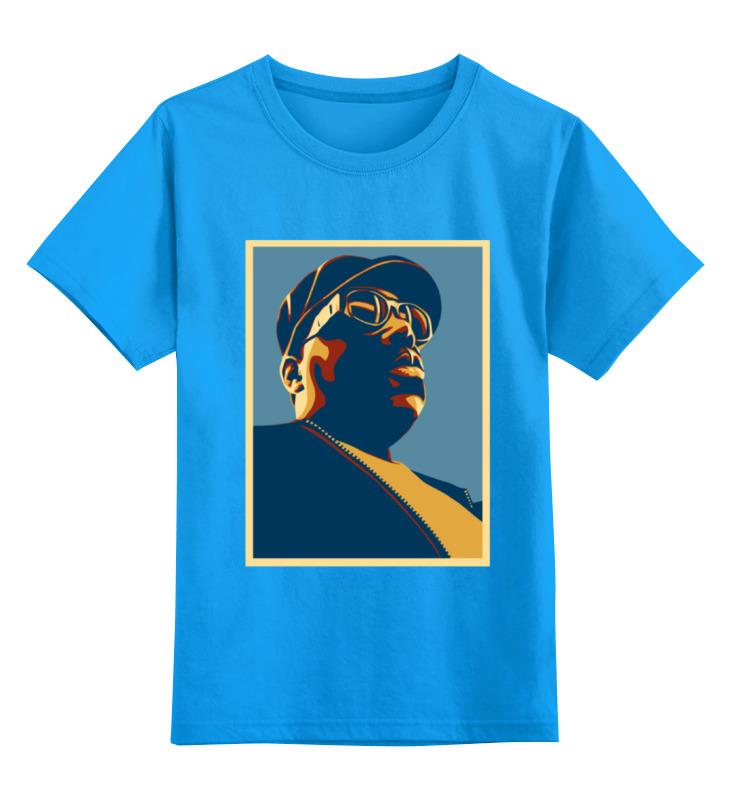 Детская футболка классическая унисекс Printio The notorious b.i.g. худи print bar the notorious