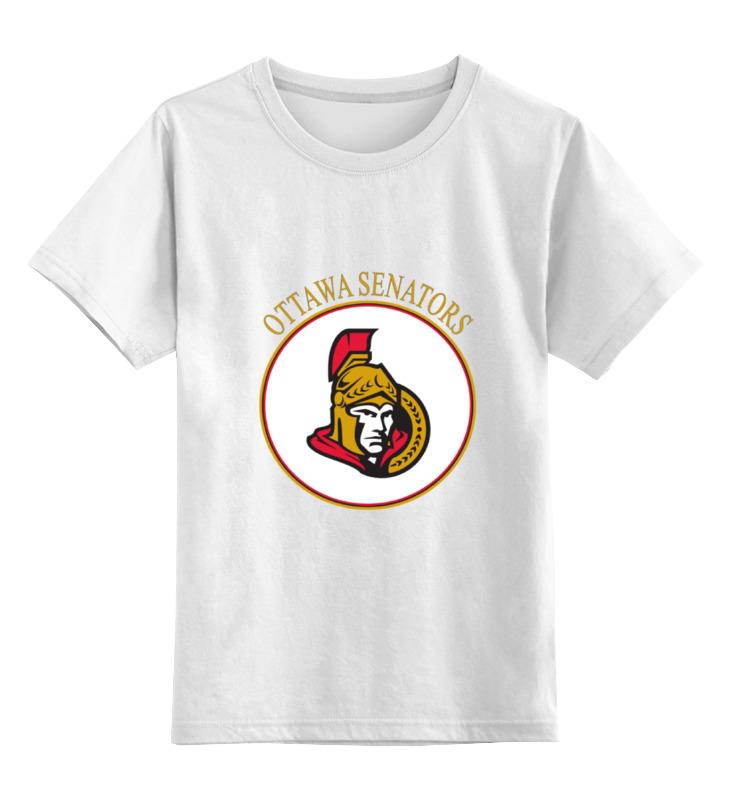 Детская футболка классическая унисекс Printio Ottawa senators детская футболка классическая унисекс printio карандаш и самоделкин