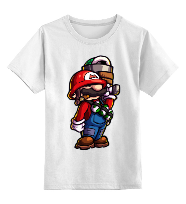 Printio Марио детская футболка классическая унисекс printio череп марио