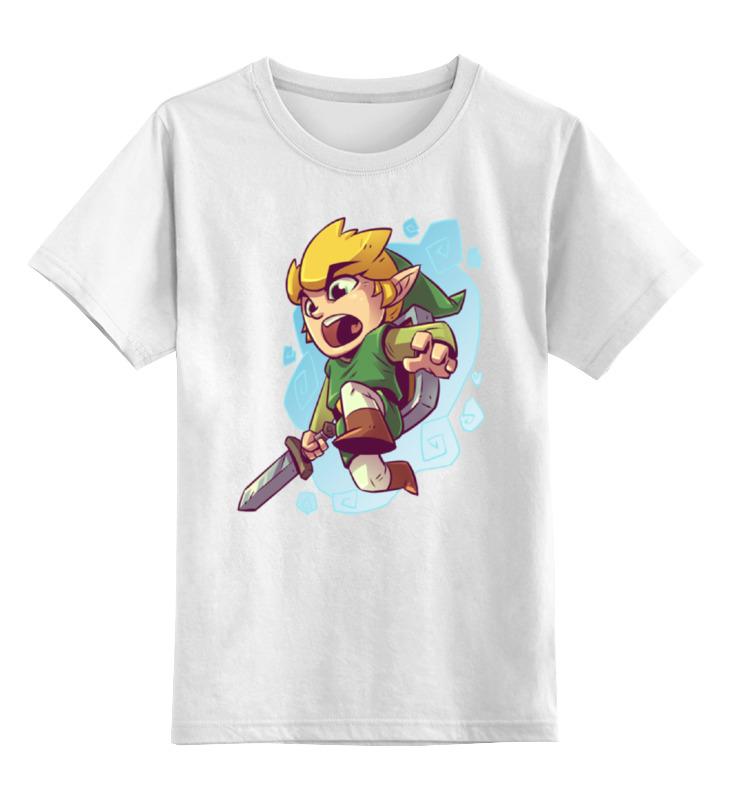 Детская футболка классическая унисекс Printio Воин с мечом футболка классическая printio воин с мечом