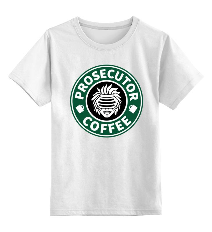 Детская футболка классическая унисекс Printio Godot (ace attorney)