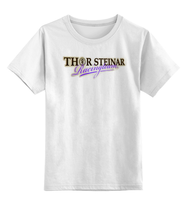Детская футболка классическая унисекс Printio Thor steinar brand vernee thor 4g smartphone