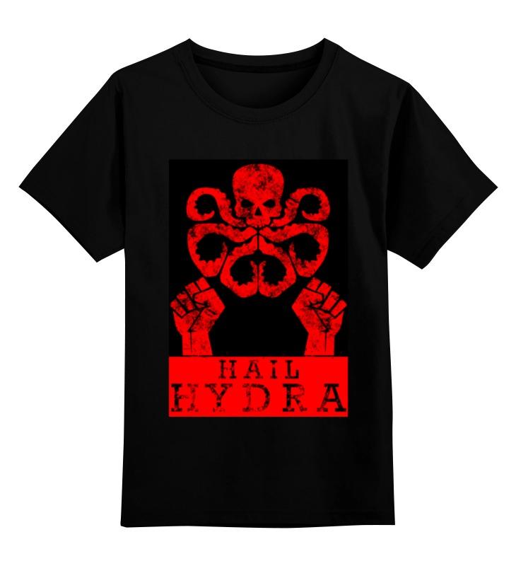 Детская футболка классическая унисекс Printio Hydra arsb лонгслив printio psy art arsb