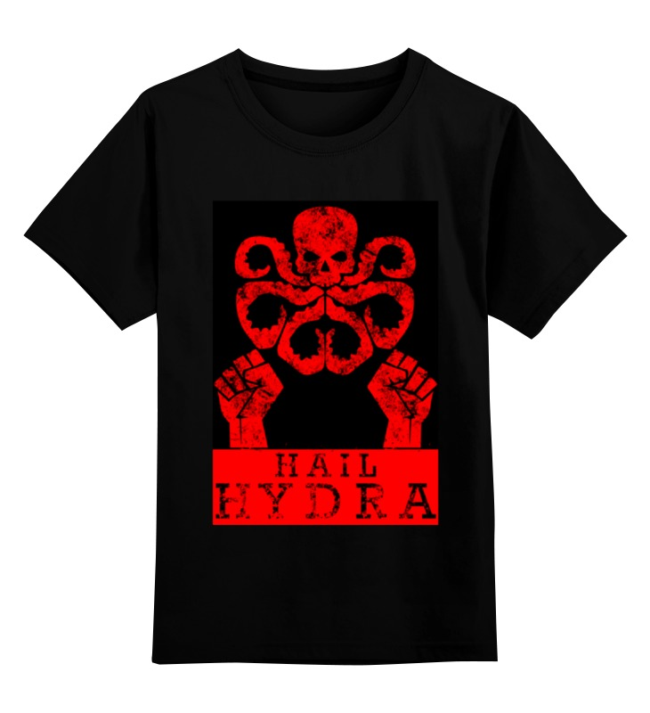 Детская футболка классическая унисекс Printio Hydra arsb сумка printio for huge arsb