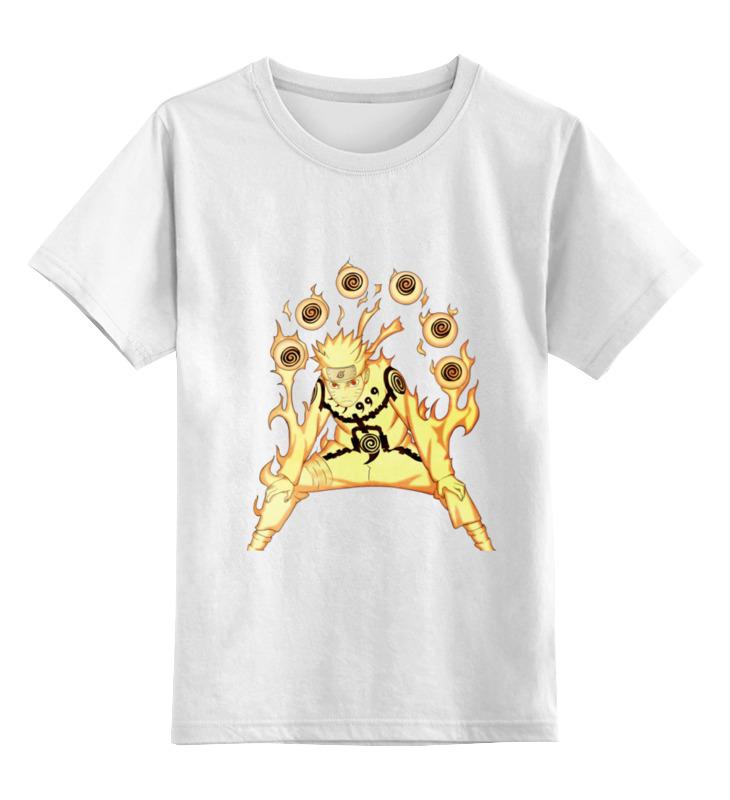 Детская футболка классическая унисекс Printio Наруто детская футболка классическая унисекс printio наруто