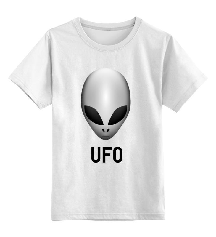 Детская футболка классическая унисекс Printio Пришелец ufo детская футболка классическая унисекс printio пришелец ufo