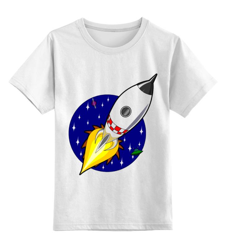 Детская футболка классическая унисекс Printio Ракета 3