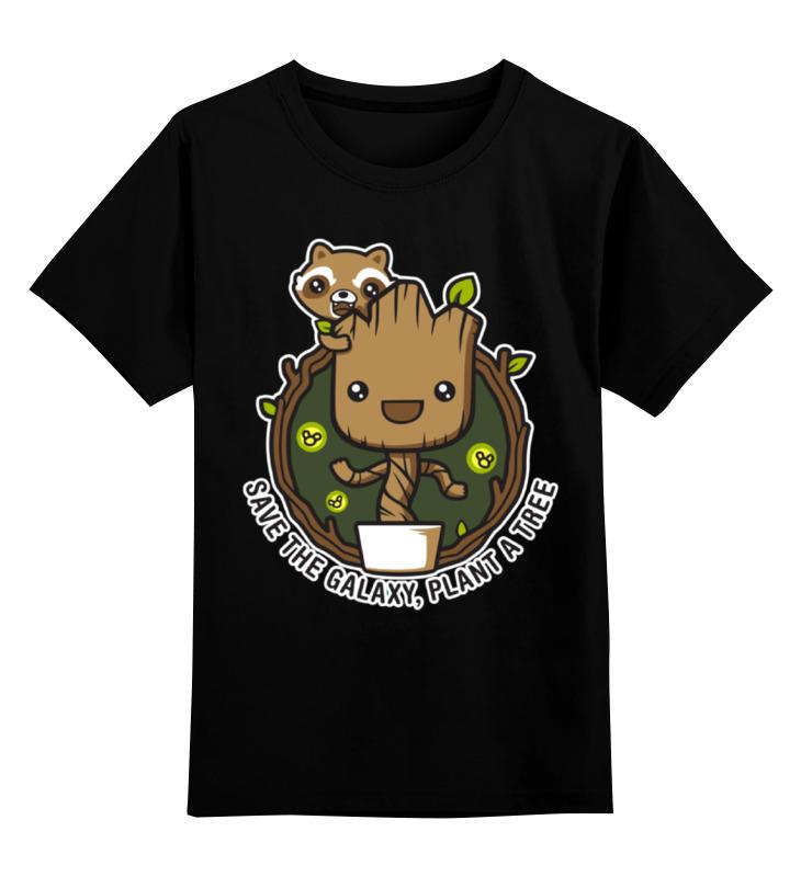 Детская футболка классическая унисекс Printio Стражи галактики