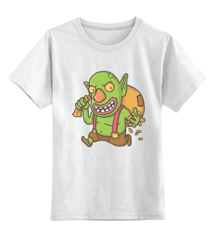 Детская футболка классическая унисекс Printio Гоблин (clash of сlans) детская футболка классическая унисекс printio столкновение кланов