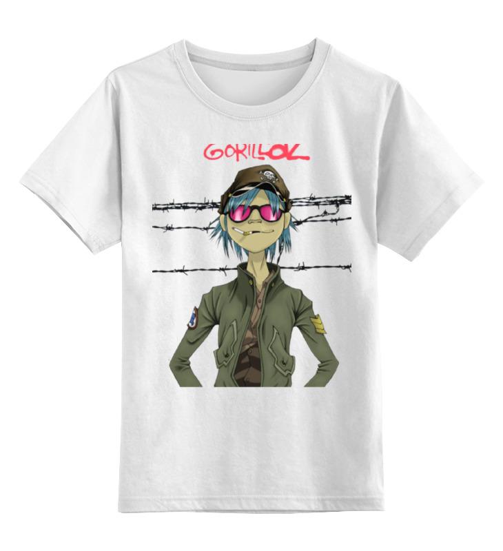 Детская футболка классическая унисекс Printio Gorillaz gorillaz gorillaz plastic beach 2 lp