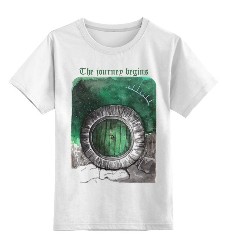 Детская футболка классическая унисекс Printio Волшебная дверь от milanna дверь храма