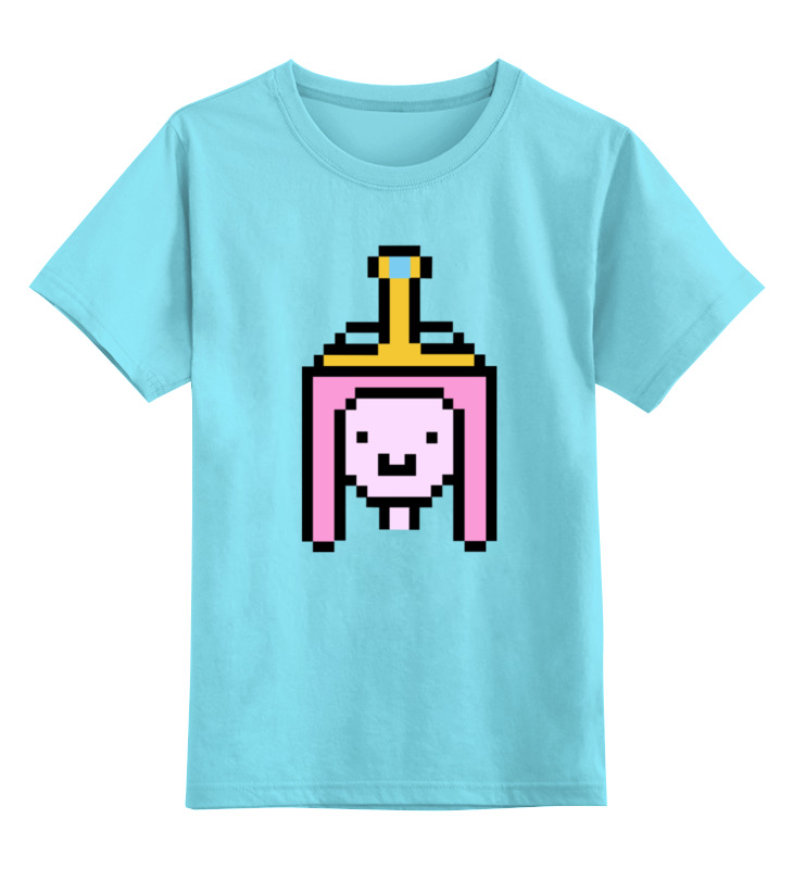 Детская футболка классическая унисекс Printio Принцесса бубльгум футболка классическая printio пламенная принцесса время приключений
