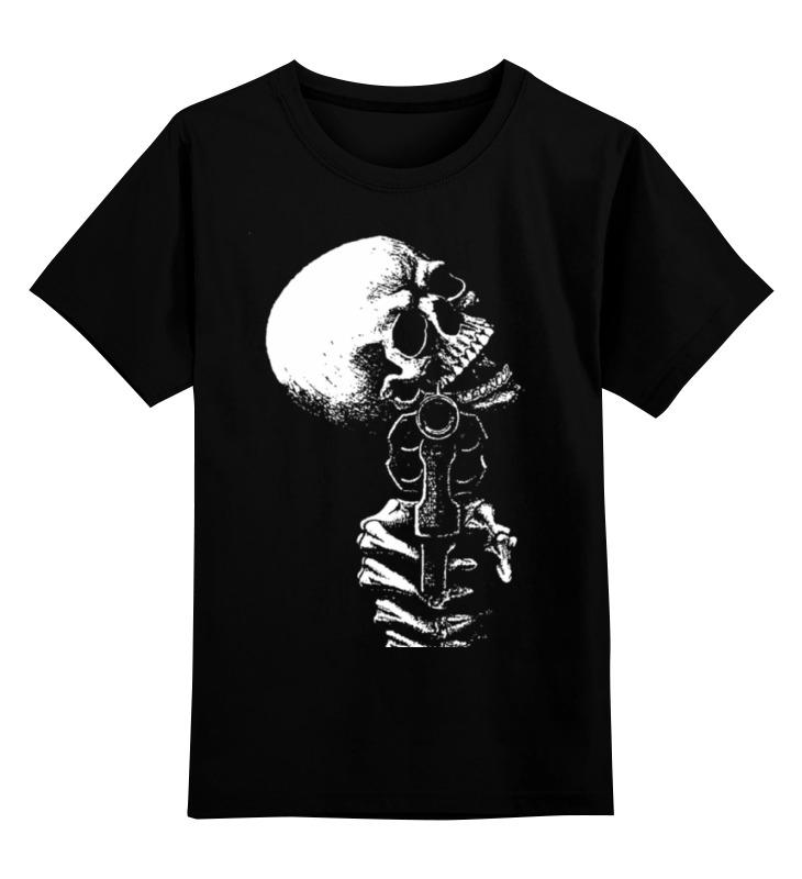 Детская футболка классическая унисекс Printio Skull art детская футболка классическая унисекс printio spitfire