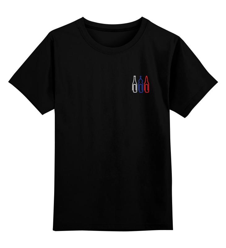 Детская футболка классическая унисекс Printio Духовные скрепы (две стороны, триколор) цены онлайн