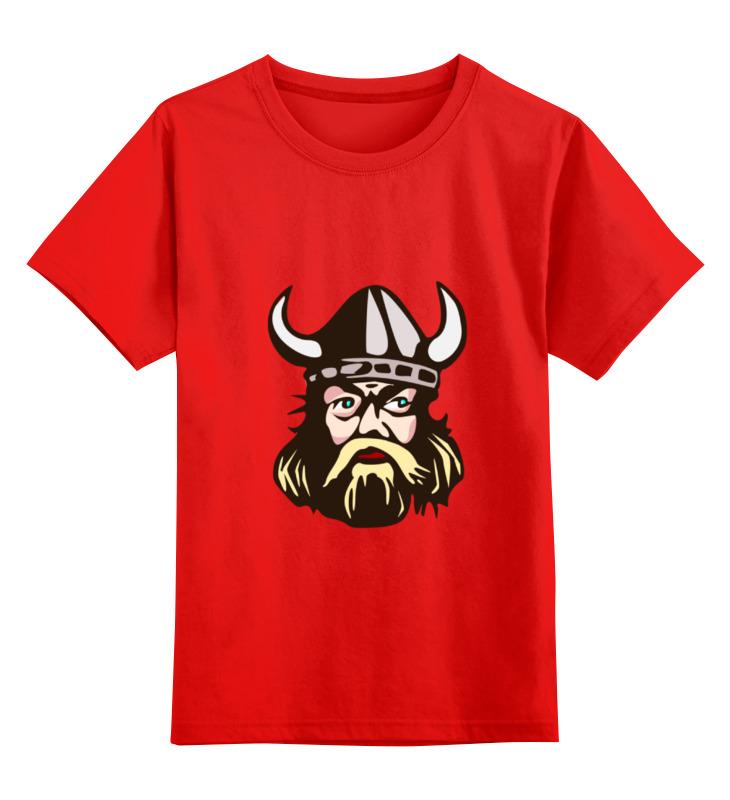 Детская футболка классическая унисекс Printio Веселый викинг футболка классическая printio веселый викинг