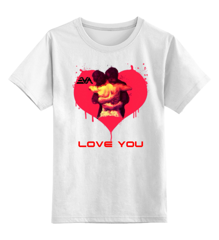 Детская футболка классическая унисекс Printio Love you детская футболка классическая унисекс printio i love you beary much