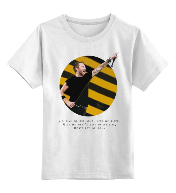 Детская футболка классическая унисекс Printio Rise against цена
