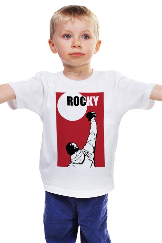 Детская футболка классическая унисекс Printio Rocky / рокки держатель стикеров и ручек rocky