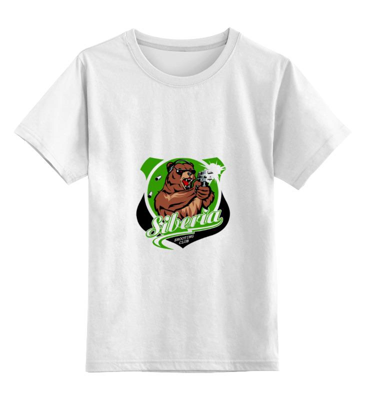 Детская футболка классическая унисекс Printio Сибирь футболка это мать сибирь