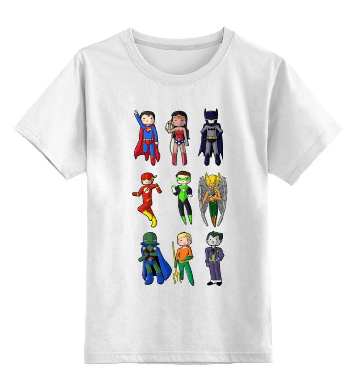 Детская футболка классическая унисекс Printio Лига правосудия (justice league) restorative justice for juveniles