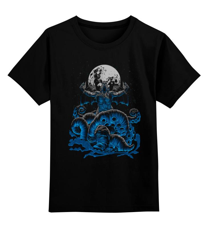 Детская футболка классическая унисекс Printio Зов ктулху детская футболка классическая унисекс printio ктулху