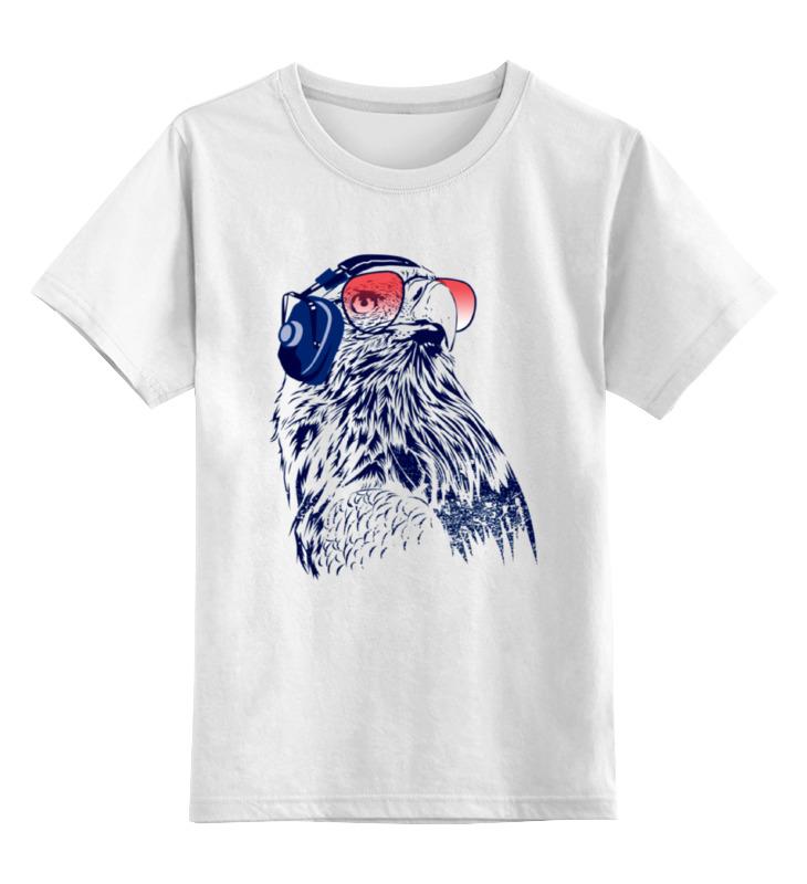 Детская футболка классическая унисекс Printio Птичка меломан майка классическая printio птичка меломан