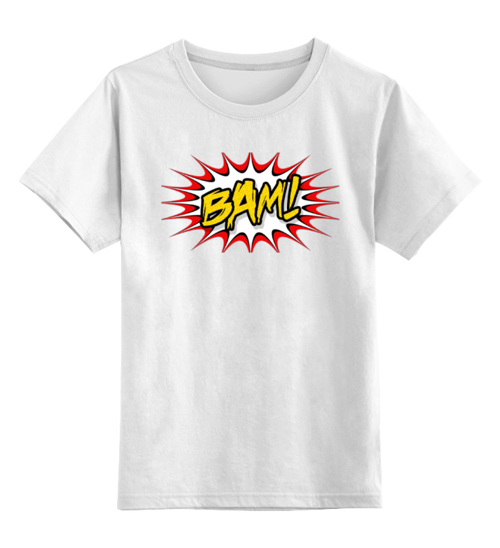 Printio Взрыв (bam) детская футболка классическая унисекс printio взрыв звезды смерти